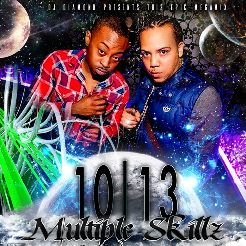 DJ DIAMOND presents MULTIPLE SKILLZ 10_13 (megamix)